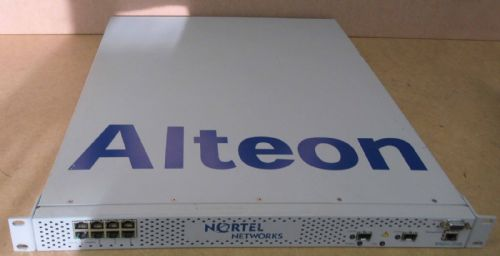 Nortel Networks Alteon 2208 1U Multi-Application Switching System Switch